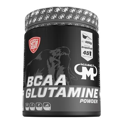 BCAA Glutamin Powder - Grapefruit - 450 g Dose