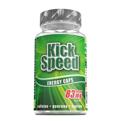 Kick Speed Energy Caps - 60 Stück / Dose