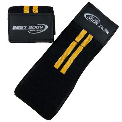 Wrist Bandages - yellow - pair
