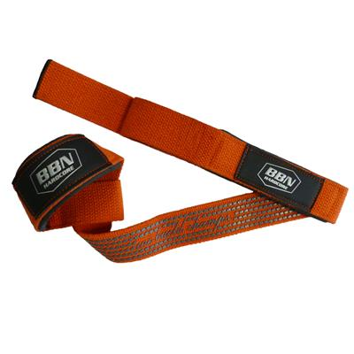 Lat Pull Strap Top Grip - orange - pair