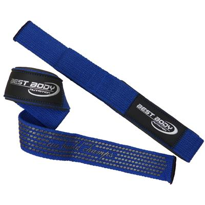 Lat Pull Strap Top Grip - blue - pair