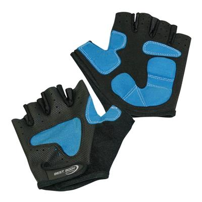 Endurace Cycle Gloves - black/blue - L - pair