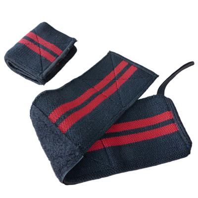 Wrist Bandages - black/red - pair