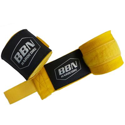 Boxing Bandages - yellow - pair