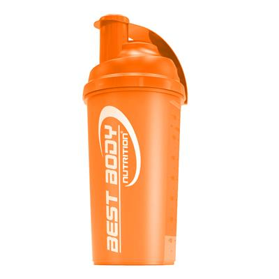 Protein Shaker - orange - Design Best Body Nutrition - unit
