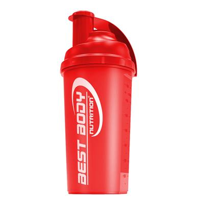 Protein Shaker - red - Design Best Body Nutrition - unit