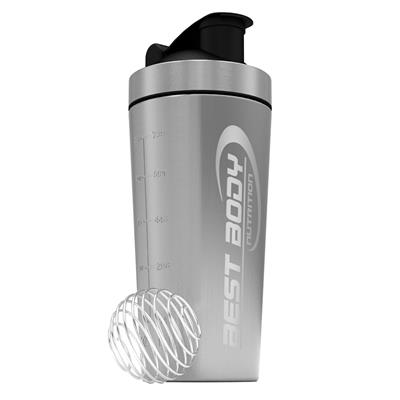 Stainless Steel Shaker - silver - Design Best Body Nutrition - unit