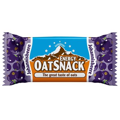 Oat Snack Bar - Currant - 65 g bar