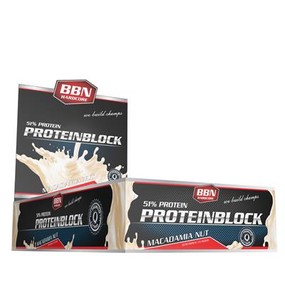 Protein Block - Macadamia Nut - 90 g bar