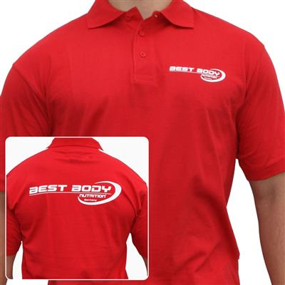 Polo Shirt - red - M - unit