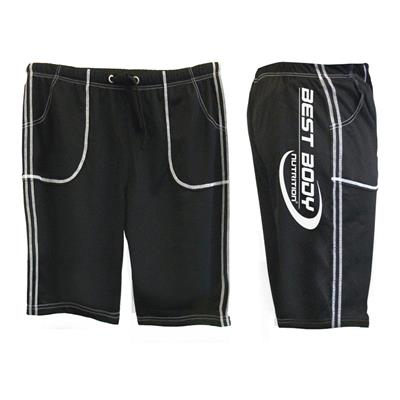 Gym Pant Men Short - black - S - unit