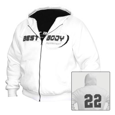 Premium Zip Hoody 22 - S - white - unit