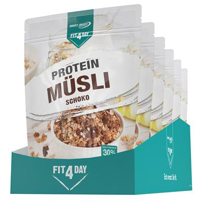 Protein Muesli - Chocolate - 375 g zip bag