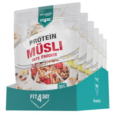 Protein Muesli - Red Fruits - 375 g zip bag