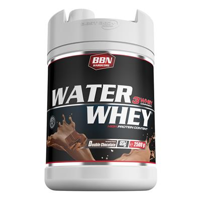 Water Whey Protein - Double Chocolate - 2500 g Dose