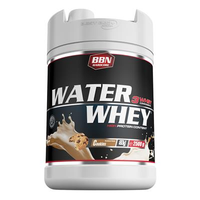 Water Whey Protein - Cookies - 2500 g can