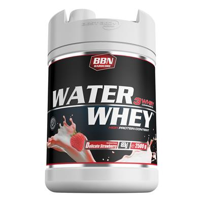 Water Whey Protein - Delicate Strawberry - 2500 g can