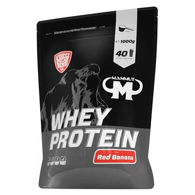 Whey Protein - Red Banana - 1000 g zip-bag