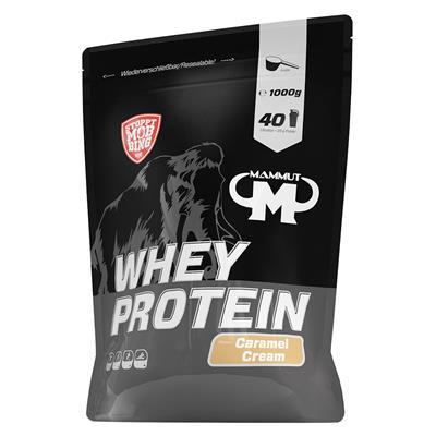 Whey Protein - Caramel Cream - 1000 g zip bag
