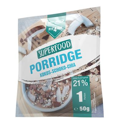 Superfood Porridge - Coconut Chocolate Chia - 50 g bag