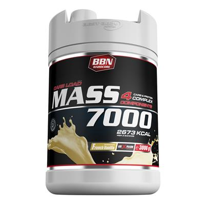 Mass 7000 - French Vanilla - 3000 g Dose