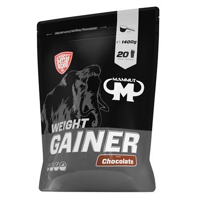 Weight Gainer Crash 5000 - Chocolate - 1400 g Beutel