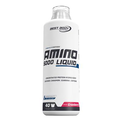 Amino Liquid 5000 - Cranberry - 1000 ml bottle