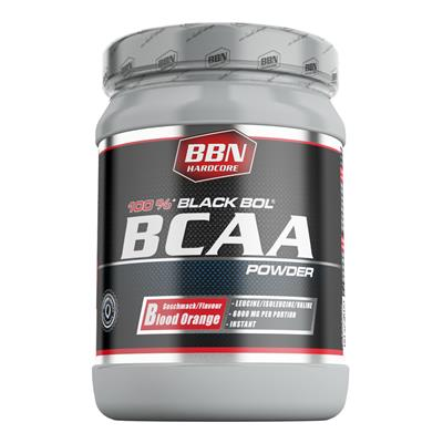 BCAA Black Bol Powder - Blood Orange - 450 g Dose
