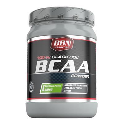 BCAA Black Bol Powder - Lemon - 450 g can