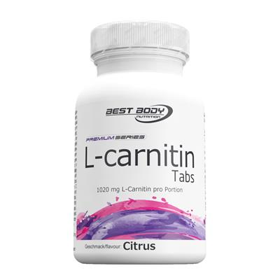 L-Carnitin Tabs - Lemon - 60 pcs / can