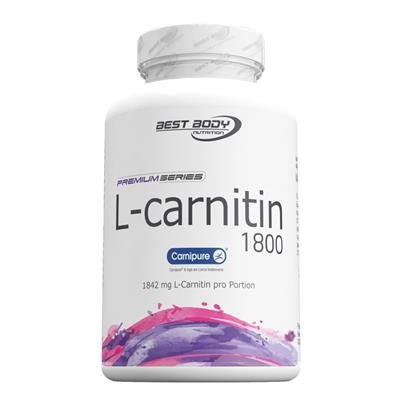 L-Carnitin 1800 Capsules - 90 pcs/can