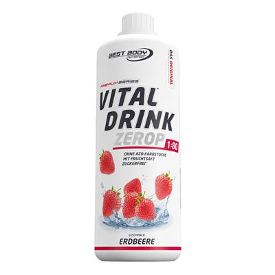 Vital Drink - Strawberry - 1000 ml bottle