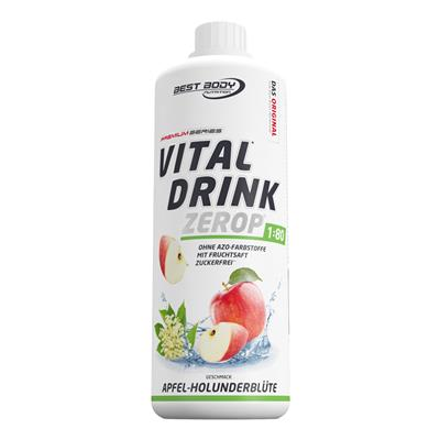 Vital Drink - Apple Elderflower - 1000 ml bottle