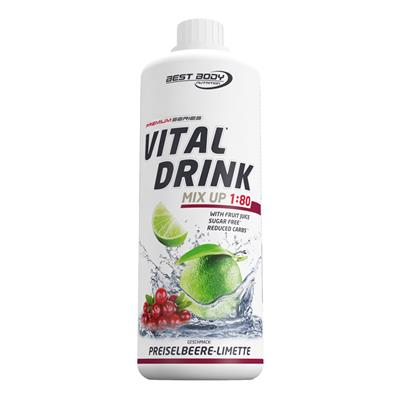 Vital Drink - Lingonberry Lime - 1000 ml bottle
