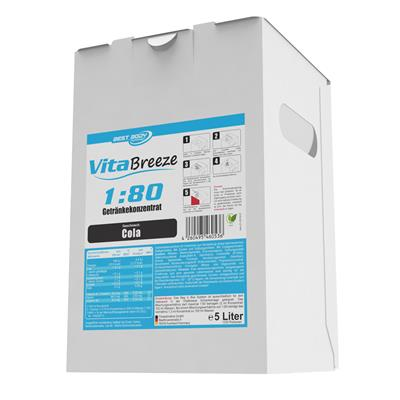 Vital Drink Vitabreeze - Cola - 5000 ml Bag in Box