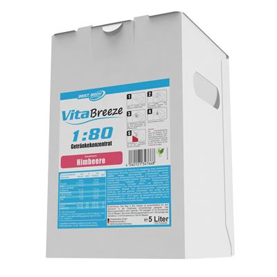 Vital Drink Vitabreeze - Himbeere - 5000 ml Bag in Box