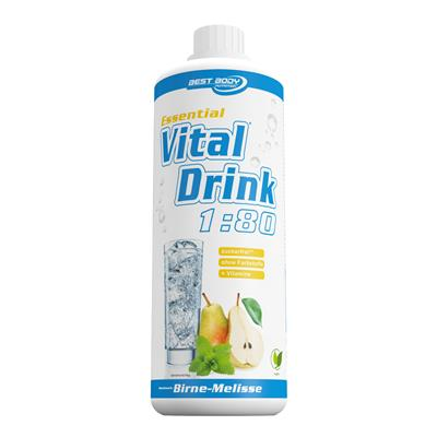 Essential Vital Drink - Pear Lemon Balm - 1000 ml bottle