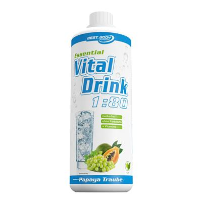 Essential Vital Drink - Papaya Grape - 1000 ml bottle