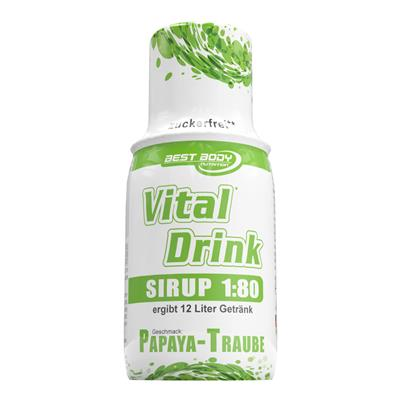 Vital Drink - Papaya Grape - 150 ml bottle