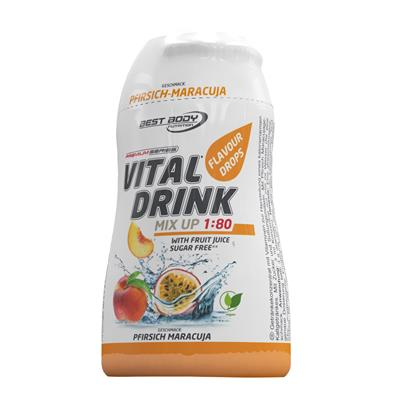 Vital Drink - Peach Passion Fruit - 48 ml squeeze bottle