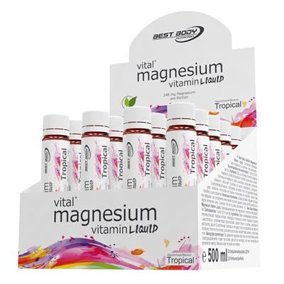Magnesium Vitamin Ampullen - Tropical - 20 Ampullen à 25 ml