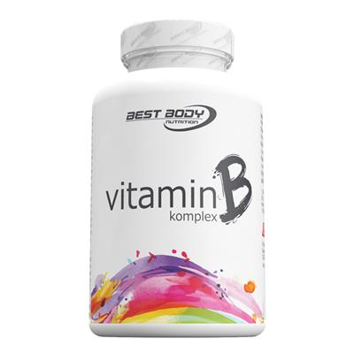 Vitamin B Complex Capsules - 100 pcs/can