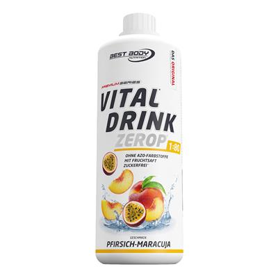 Vital Drink - Peach Passion Fruit - 1000 ml bottle