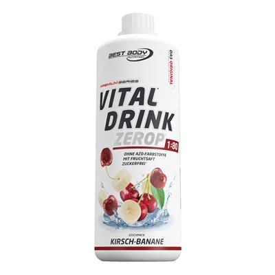 Vital Drink - Banana Cherry - 1000 ml bottle