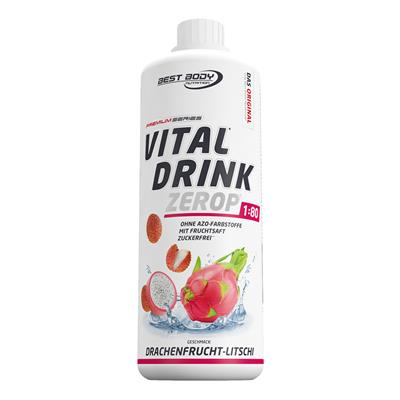 Vital Drink - Dragon Fruit Lychee - 1000 ml bottle