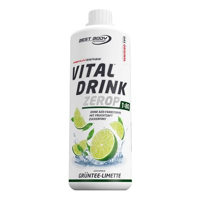 Vital Drink - Green Tea Lime - 1000 ml bottle