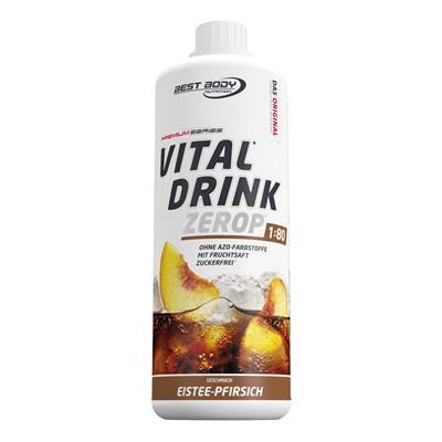 Vital Drink - Ice Tea Peach - 1000 ml bottle