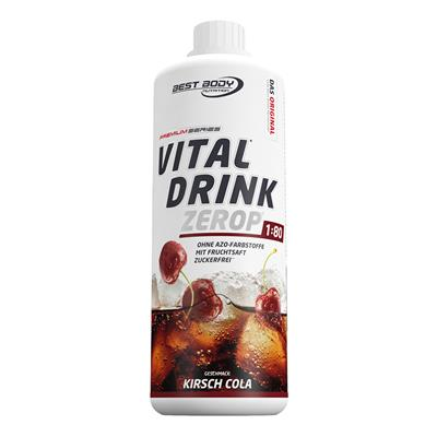 Vital Drink - Cherry Cola - 1000 ml bottle