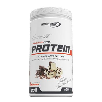 Gourmet Premium Pro Protein - Banana Chocolate Chip - 500 g can