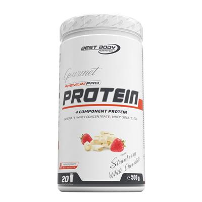 Gourmet Premium Pro Protein - Strawberry White Chocolate - 500 g can